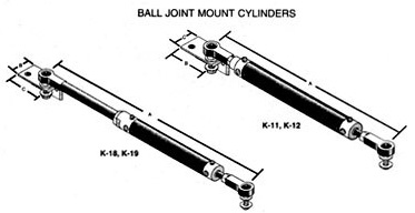 hynautic ball joint cylinders