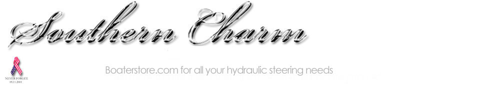 Southern Charm and Boater Store Hydraulic Steering
